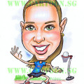 2012-12-17-basketball-girl-love-shirt-caricature-singapore-christmas-gift
