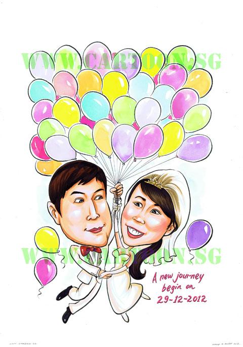 2012-12-17-bridal-balloon-couple-sign-in-board-caricature-singapore-wedding.jpg