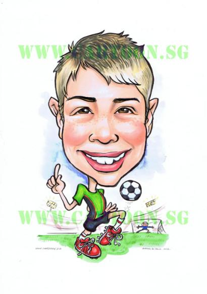 2012-12-17-soccer-boy-caricature-singapore