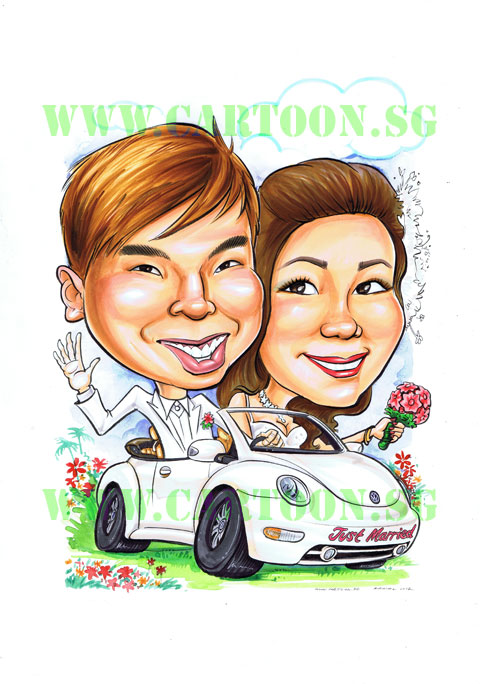 2012-12-17-wedding-couple-in-car-caricature-singapore.jpg