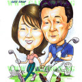 2013-04-15-TMAP-Customer-First-Group--Golf-Singapore-Merlion-Japense-Couple-Boss