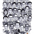 2013-04-25-RSAF-Group-Caricature-drawing-from-photo-Soccer-team