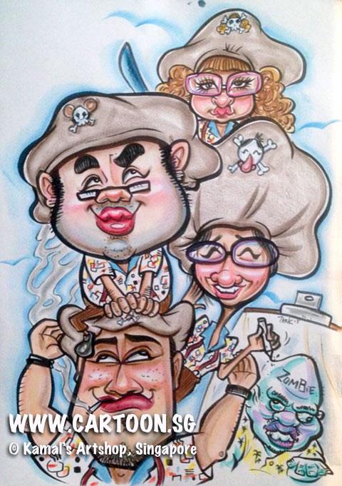 2013-05-02-Live-Caricaturists-Tank-USS-Caricature-Crew.jpg