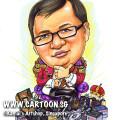 2013-06-18-Caricature-Bosch-battert-pirate-purple-chair-treasure