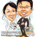 2013-06-21-Caricature-wedding-couple-chijmes-rose