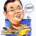 2013-07-29-Caricature-sea-canoe-capside-red-life-jacket