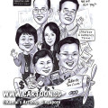 singapore caricature cartoon art drawing fun picture image sketch colour aeroplane forex trader farewell gift airplane plane money dollar sign stock exchange waving wave team happy people officewear spx kospi NKY jakarta flight fullerton fund management goodbye salute saluting colleague colleagues antony