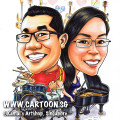 singapore caricature cartoon art drawing fun picture image sketch colour dbs PWC superheroes superhero batman star wars wonderwoman jedi lightsaber obiwan obi wan ironman cape catwoman group team company guns gun rifles rifle whip fight flash teamwork darth vader sandtrooper