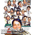 2013-10-14-caricature-singapore-group-taichi-kung-fu-car-ferrari-wustyle-chinese-opera-dog-pet-fighting-play