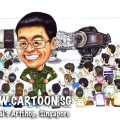 2013-10-24-caricature-singapore-army-pilot-farewell-gift