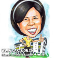 2013-11-13-School-Principal-Caricature-Teacher-Singapore-Thumbs-Up
