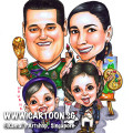 2013-11-18-Family-Kids-Football-Painting-Brush-Trophy-Jersey-Teletubbies