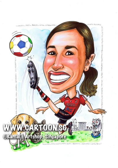 2013-12-09-SIngapore-caricature-boss-google-ball-football-soccer-kick-socks-cat-kitten-puppy-dog-mbs-merlion-jersey-farewell