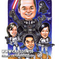 2014-01-21-caricature-singapore-gift-star-war-space-ships-darth-vader-stormtroopers-light-saber-guns-weapons-aliens-ufo-fight-superhero