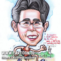 2014-01-21-live-caricature-singapore-gift-running-sport-army