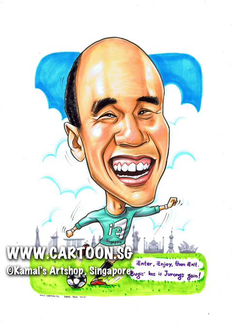 2014-02-28-caricature-singapore-football-dynamic-smile-ie-shoot-world-landmarks-paris-mbs-sky-ronaldo