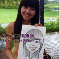 2011-06-03-caricature-at-Discovery-centre-girl-in-yellow