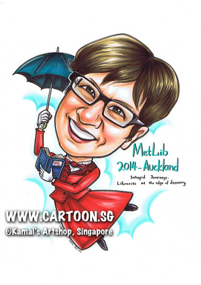 2014-03-20-Singapore-caricature-popping-mary-umbrella-book-libraries-auckland-metLib-red-nlb