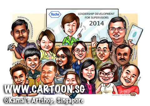 2014-04-01-caricaturte-digital-certification-graduation-convo-leadership-supervisors-roche-group-study-classroom-happy-fun-team2.jpg