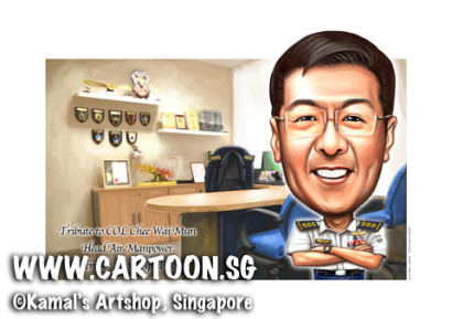 2014-04-03-caricature-digital-airforce-singapore-officer-uniform-badges-rank-funny-gift-a3-single