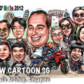 2014-04-21-caricature-singapore-group-digital-motorbike-jackets-fun-love-gift-ducati-italian-farewell-travel-naked-pisa-towel-cool