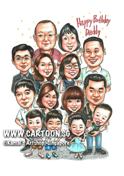 2014-06-13-Family-Dad-Birthday-Group-Children-Parents