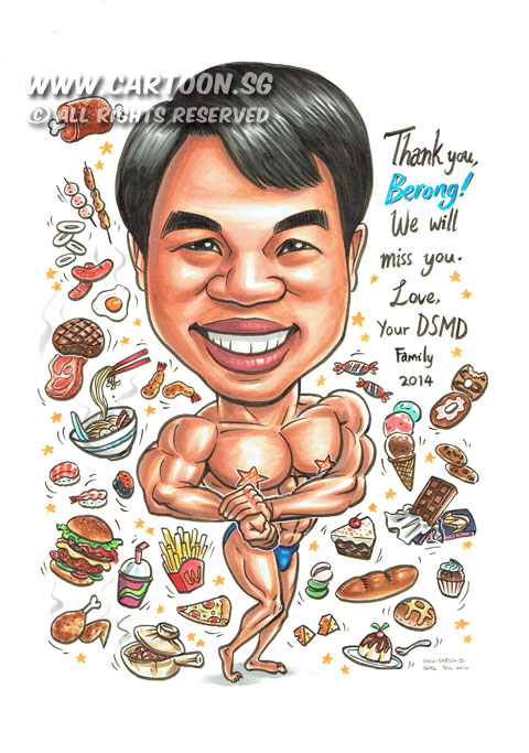 Cartoon.SG – Singapore Caricature Artists for Gifts