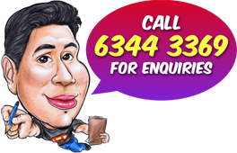 Cartoon.SG - Singapore Caricature Artists for Gifts & Events
