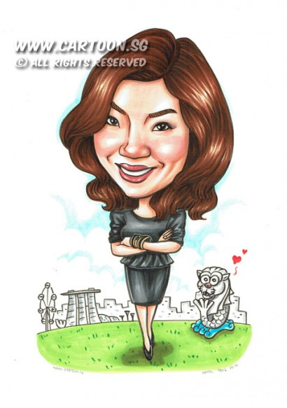 2014-08-12-Merlion-Singapore-Flyer-Farewell-Gift-Bangles-Black-Suit-Black-Shoes