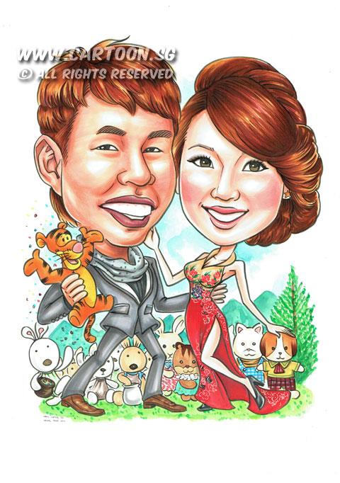 2014-10-02-Wedding-Attire-Couple-Le-Sucre-Rabbit-Tigger-Sylvanian-Family-Wedding-Gift.jpg