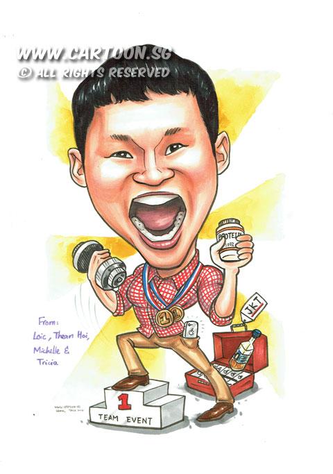 cartoon sg  u2013 singapore caricature artists for gifts