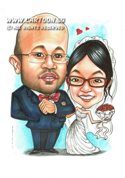 2014-11-03-Wedding-Couple-Suit-Gown-Hand-Bouqet-Spectacle-Happiness