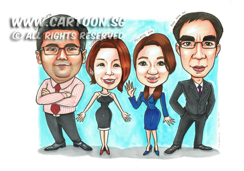 2014-11-18-Team-Award-Caricature-Suits-Dress-High-Heels-Happy-Faces.jpg
