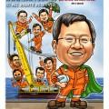 2014-11-26-Caricature-singapore-digital-farewell-gift-keppel-group-cape-helmet-driver-sea-Asian-hercules