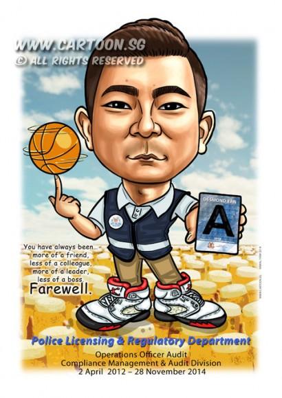 2014-11-26-caricature-singapore-digital-basketball-spining-police-vest-air-jordan-shoes-khaki-beers