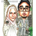 2014-11-4-Caricature-Singapore-Kamal-Artshop-Heed-Marry-wedding-malay-italy-street-canon-olympus-camera-dslr-vein-pretty-happy-love