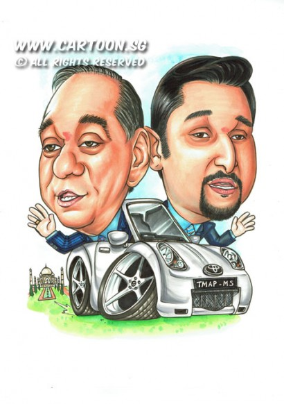 2014-12-08-Father-And-Son-India-landmarks-Toyota-Car-Driving