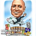 2014-12-1-Caricature-digital-farewell-gift-boss-merlion-areoplane-bye-pringles-kellogg-corn-flakes