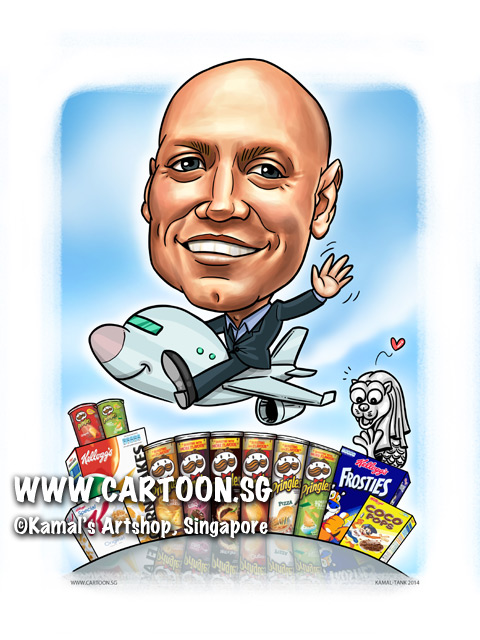 2014-12-1-Caricature-digital-farewell-gift-boss-merlion-areoplane-bye-pringles-kellogg-corn-flakes.jpg