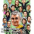 2014-12-11-Caricature-Singapore-Digital-Gift-Boss-Bike-Riding-Cool-Colleagues-Company