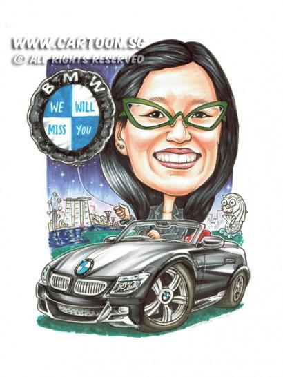 2015-02-09-caricature-farewell-BMW-car-singapore-spec-ballon-merlion-glass