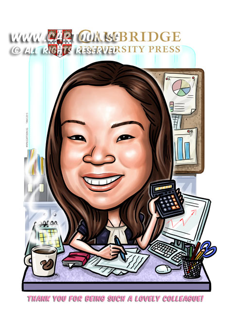 Wedding Gift Ideas For Office Colleagues : Artists for Gifts & EventsFarewell Caricature For Leaving Colleague ...