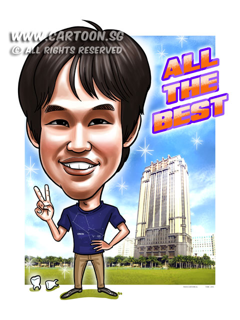 2015-03-24-Caricature-Digital-Singapore-Farewell-gift-parkview-building-teeths-orion.jpg