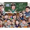 2015-03-26-Caricature-Singapore-Digital-Group-leadership-roche-classroom-play-fun-happy-lollipop-candy-sweet-books-blackboard