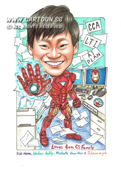 2015-05-05-Singapore-Caricature-Ironman-Suit-Mask-Desktop-Computer-Papers-Telephone