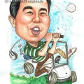 2015-05-13-Singapore-Caricature-Golf-Buggy-Field-Happy