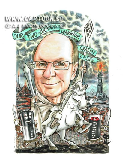 2015-06-17-Caricature-Singapore-Gandalf-lord-of-the-ring-modor-tower-battery-warrior-white-horse-staff-power-cool-lightning-thunder-enerhizer-eveready-cat-sword
