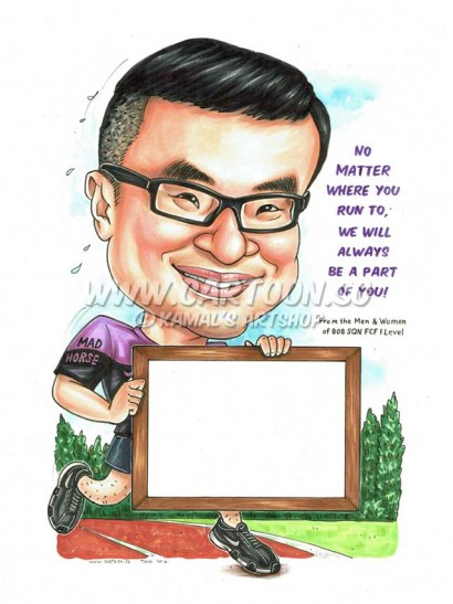 2016-06-30-Caricature-Singapore-run-sport-mad-horse