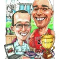 2017-06-14-Caricature-Singapore-farewell-gift-colleague-trophy-top-secret-by-hand-laptop-kia-car-taxi-files-merlion