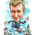 2017-07-07-Caricature-SIngapore-aeroplane-farewell-gift-london-cigarette-big-ben-UK